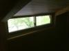ロフトの窓から
